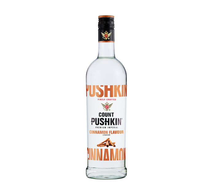 Count Pushkin Cinnamon Vodka (1 x 750ml)