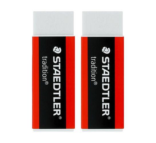 Staedtler Tradition PVC Erasers 2-Pack