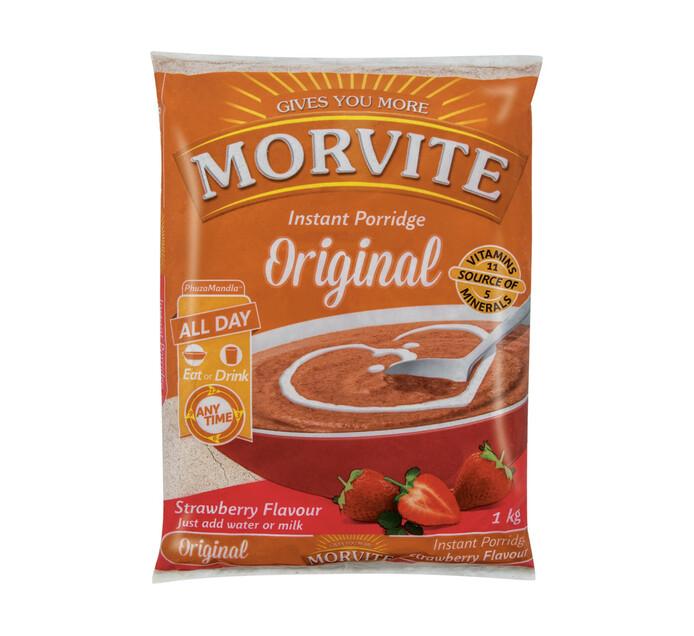 Morvite Porridge Strawberry (1 x 1kg)