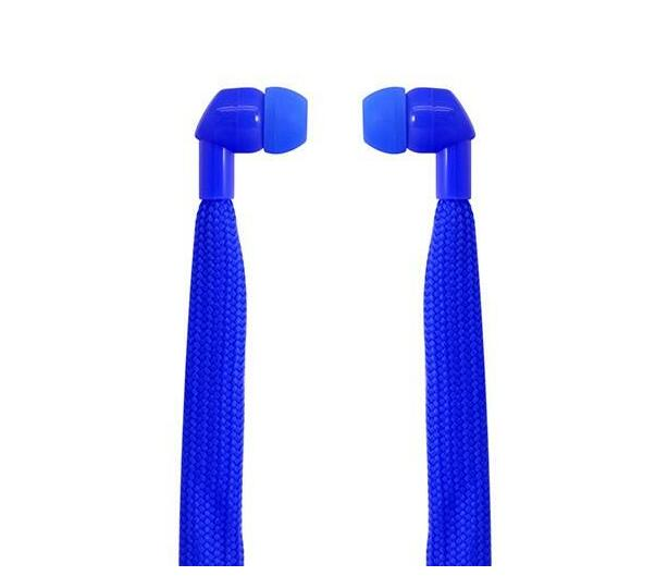 Polaroid Shoelace Earbuds- Blue