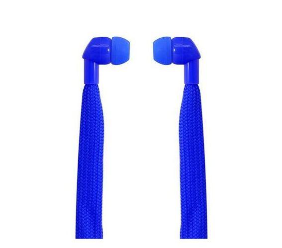 Polaroid Shoelace Earbuds- Blue