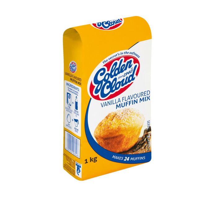 Golden Cloud Muffin Mix Vanilla (1 x 1kg)