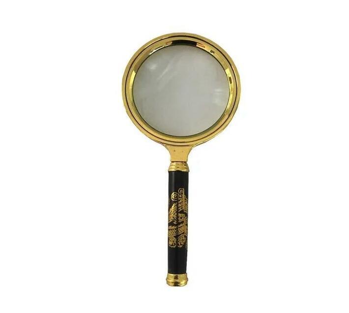 10X Handheld Magnifier Glass