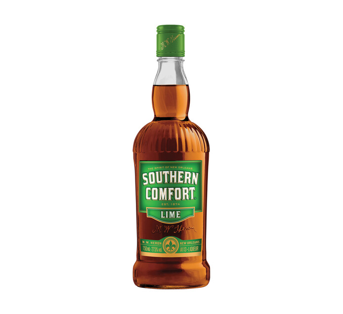 Southern Comfort Lime Liqueur Whiskey (1 x 750 ml)