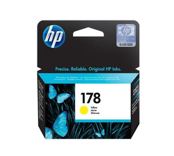 HP 178 Dye-based yellow original ink cartridge for Deskjet 3526;