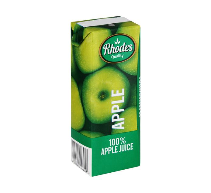 Rhodes Fruit Juice Apple (24 x 200ml)
