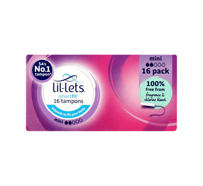 Lil-lets Mini Tampons (12 x 16's)