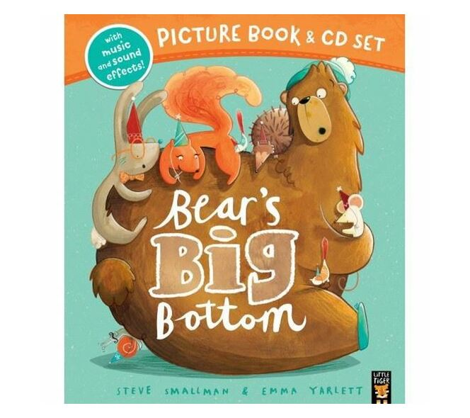 Bears Big Bottom Bk + Cd