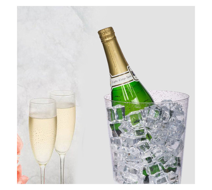 ECO WINEGLASS AND CHAMPAGNE COOLER
