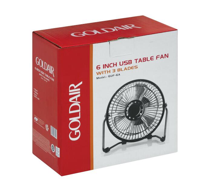 Goldair 15cm USB Desk Fan