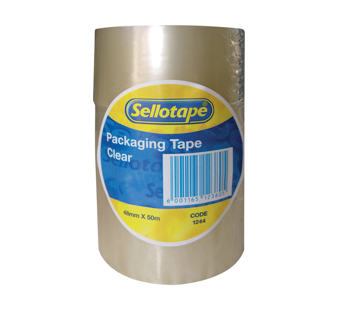Sellotape Clear Tape 3 Pack