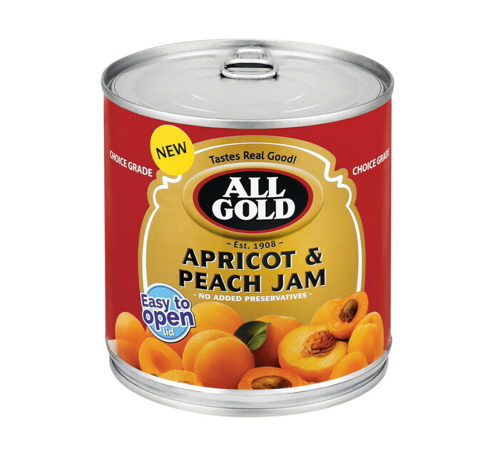 All Gold Apricot And Peach Jam (6 x 900g)