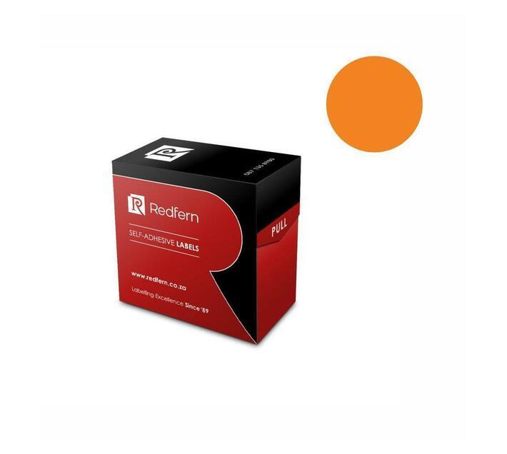 Redfern Self-Adhesive Colour Codes - C19 Orange