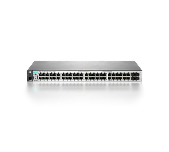 HPE 2530-48G-PoE+ Switch Switch Managed 48 x 10/100/1000 (PoE+) +