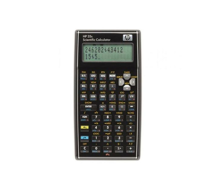 HP 35S Scientific Calculator - Algebraic or RPN - Programmable