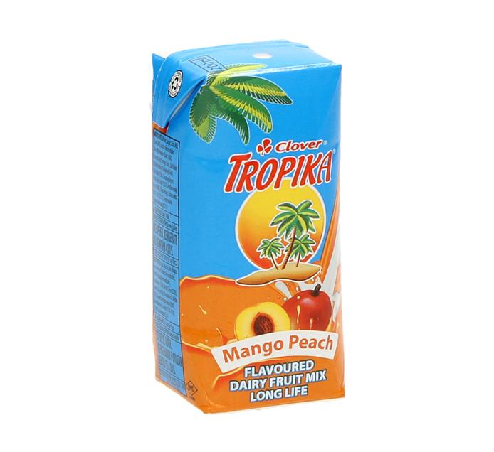Clover Tropika Eazy Mango Peach (6 x 200ml)