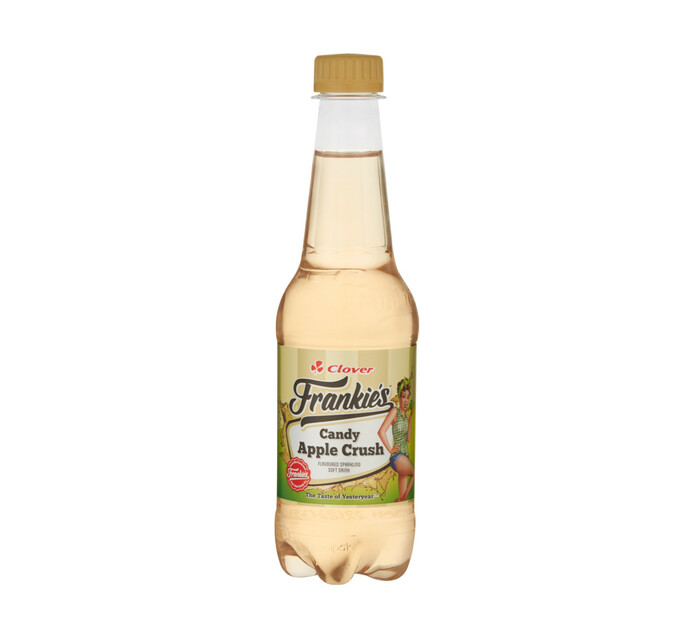 Frankies Carbonated Soft Drink Candy Apple Crush (1 x 400ml)