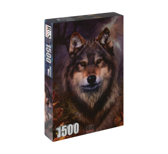 1500-piece Wolf Puzzle