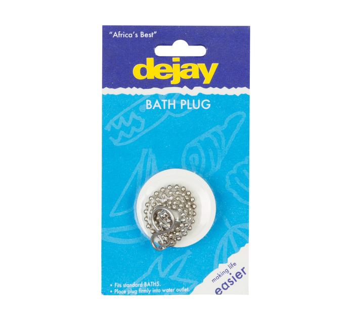 Dejay Bath Plug Pvc with Chain