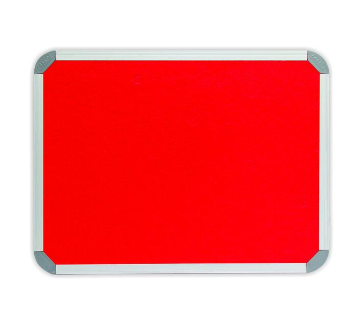 PARROT PRODUCTS Info Board (Aluminium Frame, 900*900mm, Red)