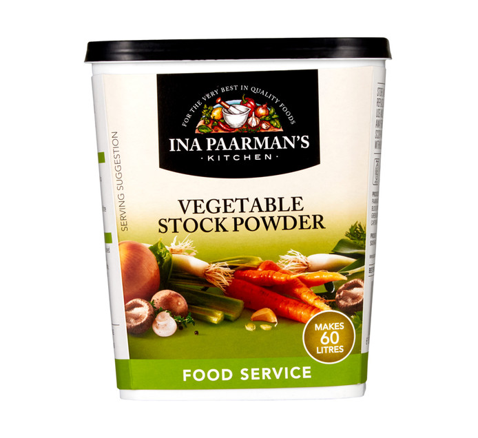 PAARMAN FOODS Stock Powder Vegetable (1  x 1kg)