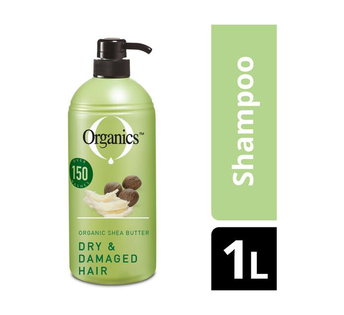 Organics Hair Shampoo and Conditioner Dry/Damaged (1 x 1L)