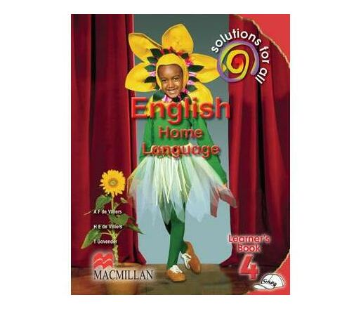 Solutions for all English: Gr 4: Learner's book : Home language