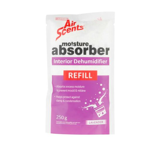 Air Scents Moisture Absorber Refill Lavender (1 x 250g)