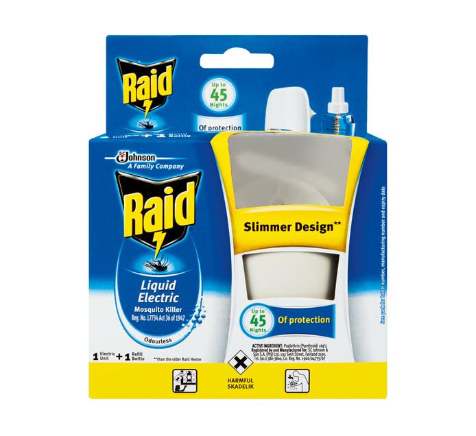 Raid Liquid Electric Unit plus Refill Refill (1 x 33 ml)