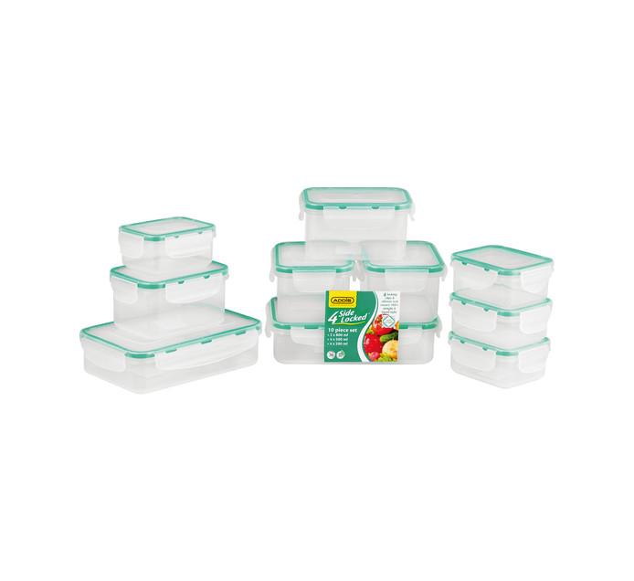 Addis 10-Piece 4 Side Locked Food Saver Set