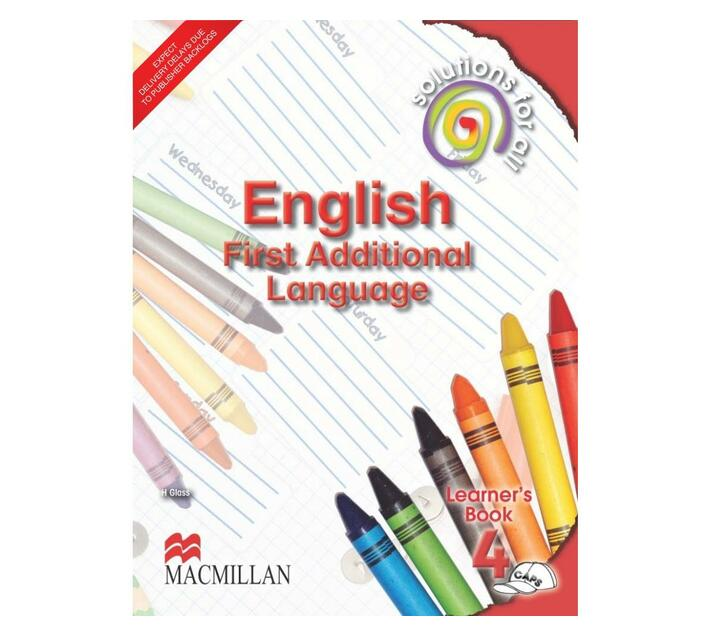 Solutions for all English: Gr 4: Learner's book : First additional language