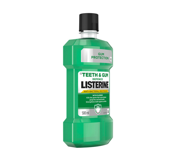 Listerine Mouth Wash Teeth and Gum Defence (1 x 500ML)