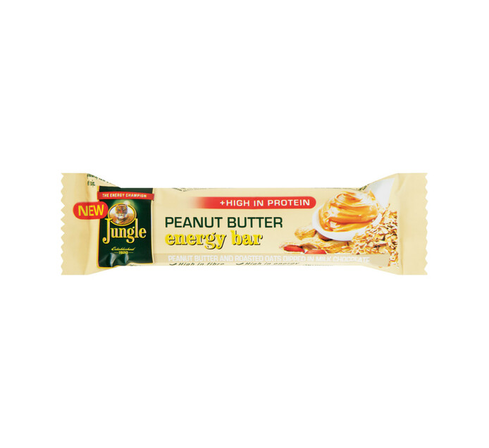 Jungle Energy Bar Peanut Butter (1 x 30's)