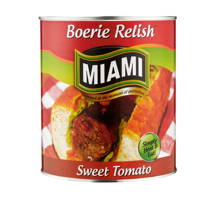 MIAMI Boerie Relish (1 x 3.2kg)