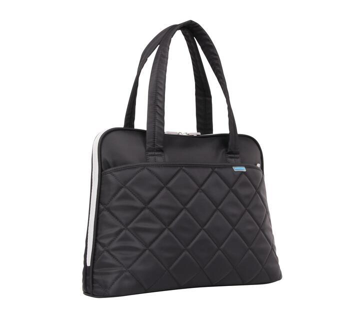 Kingsons Ladies In Fashion 15.6` Shoulder Laptop Bag - Black
