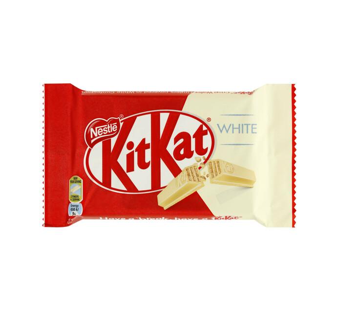 Nestle Kit Kat 4 Finger White (1 x 41.5g)