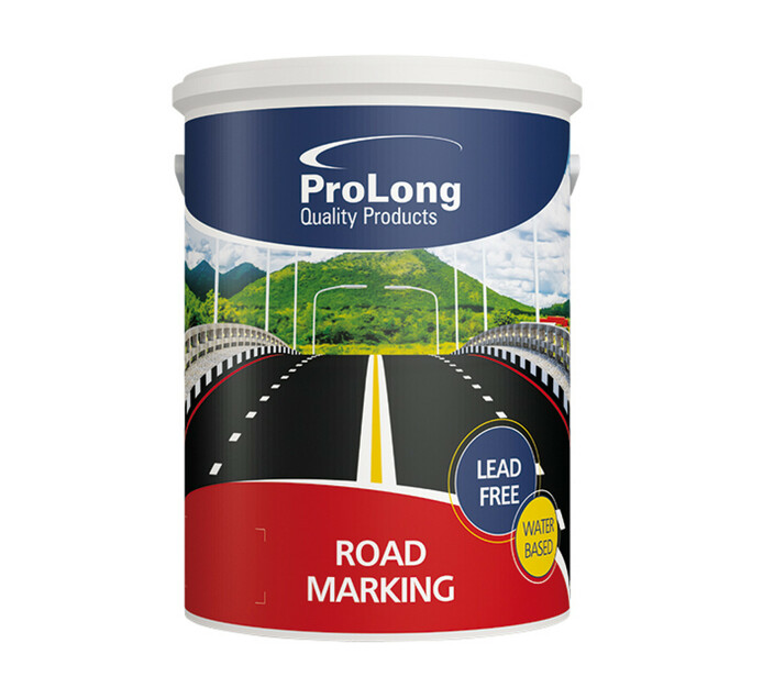 Prolong 5 L Prolong Water Based Road Marking Paint 5L White