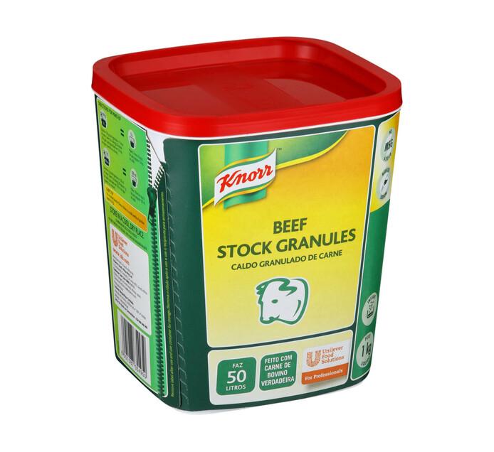 Knorr Stock Granules Beef (1  x 1kg)