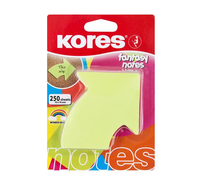 Kores Arrow Fantasy Notes Assorted