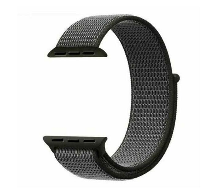 Zonabel Nylon Sport Loop Strap Band for 40mm Apple Watch – Storm Grey