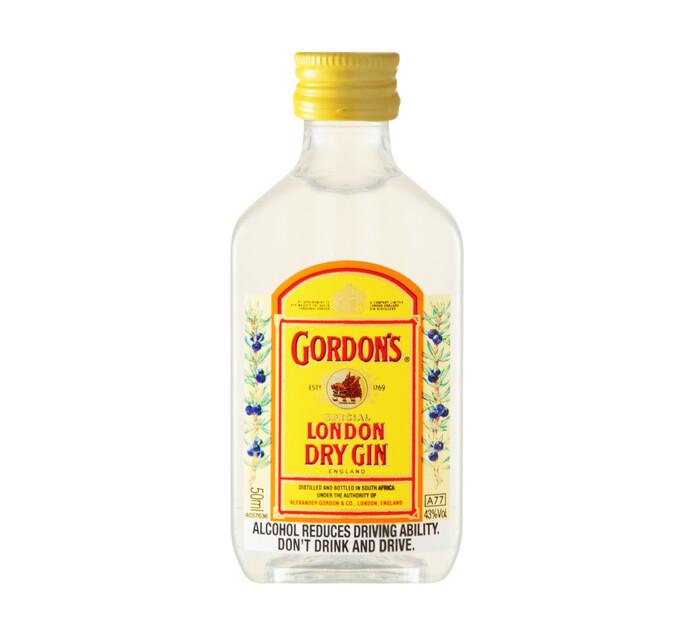 Gordon's London Dry Gin (96 x 50ml)