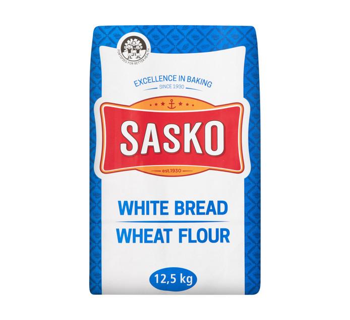 Sasko White Bread Wheat Flour (1 x 12.5kg)