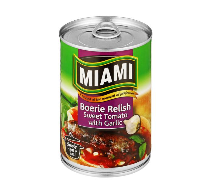 Miami Boerie Relish ()