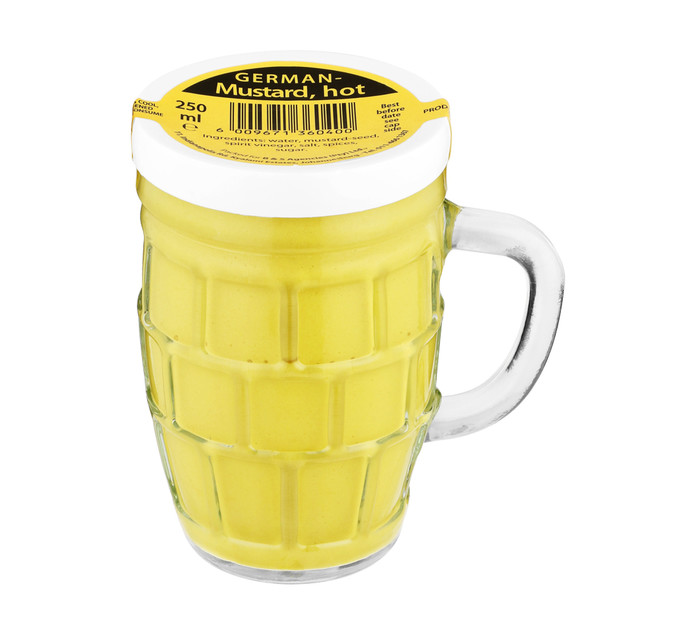 B + S Mustard German Beer Mug (1 x 250ml)