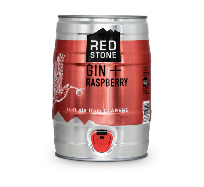 Red Stone Gin & Raspberry (1 x 5L)