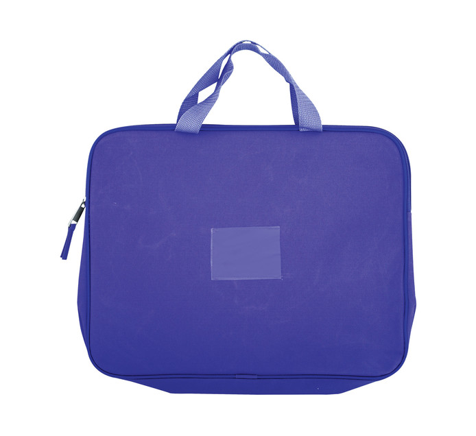 Kenzel A4 Book Bag with Handle Purple Purple