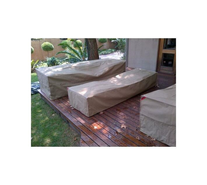 Patio Solution Covers Couch Cover Medium - Beige Ripstop UV 260grm