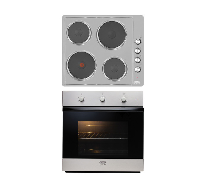 Defy 600 mm Slimline Oven and Hob Box Set
