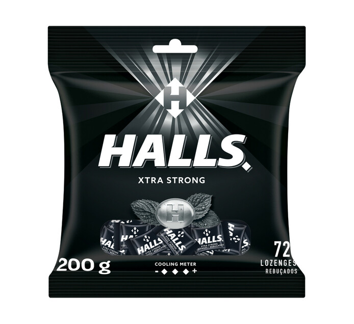 Halls Lozenges Bag Extra Strong (1 x 72's)