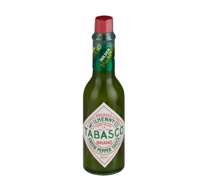 Tabasco Sauce Green Pepper (12 x 60ml)